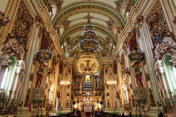 Ornate church in Rio