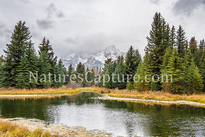 Stormy fall morning at Schwabacher