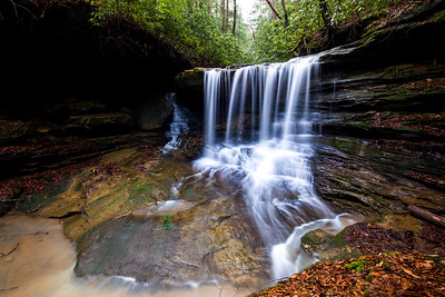 Unknown Waterfall, Daniel Boone National Forest, KY