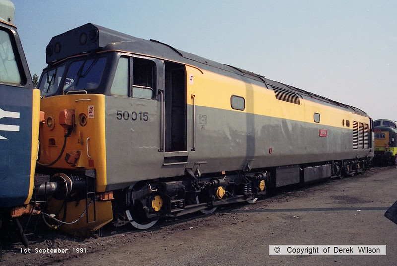 910901-019  50015 Vaiiant (Worksop open day, 1-9-91)