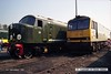 910901-025  D8 & 60021 (Worksop open day, 1-9-91)