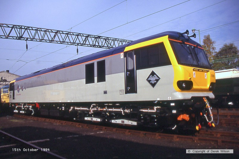 941015-015  92016 Brahms (Crewe electric open day, 15-10-94)