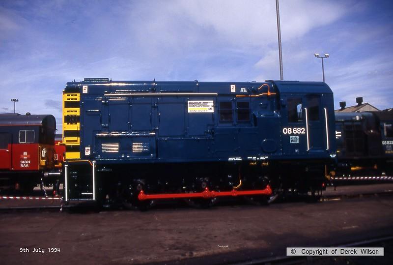 940709-022  08682 (Doncaster Works, 9-7-94)
