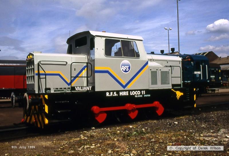 940709-021  R F S  11 (Doncaster Works, 9-7-94)