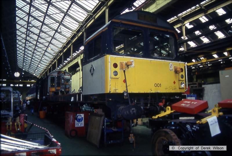 940709-018  58001 (Doncaster Works, 9-7-94)