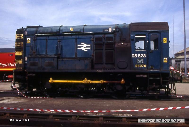 940709-023  08823 (Doncaster Works, 9-7-94)