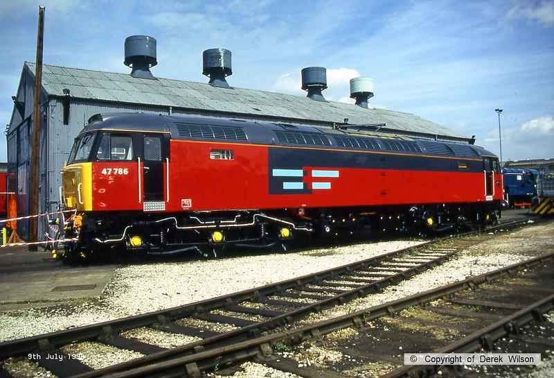 940709-020  47786 (Doncaster Works, 9-7-94)