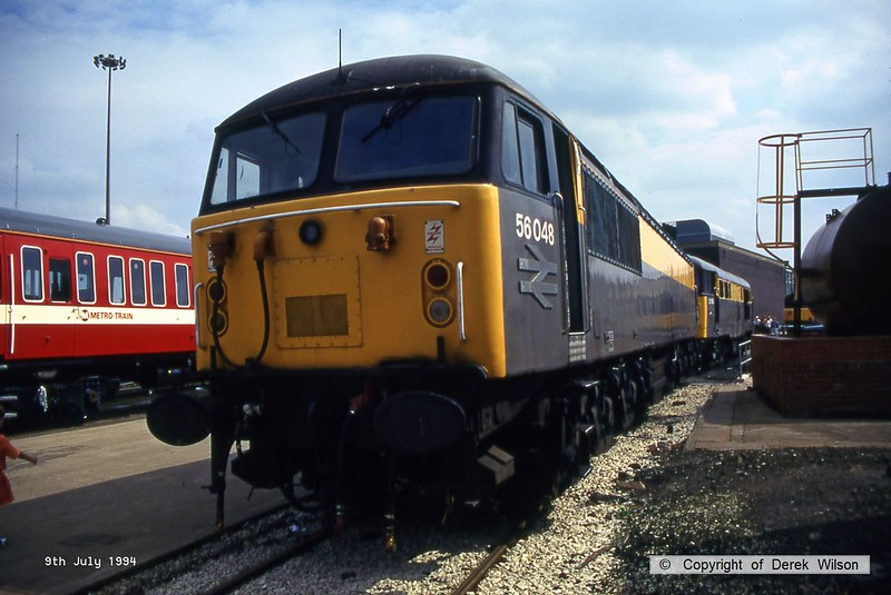 940709-014  56048 (Doncaster Works, 9-7-94)