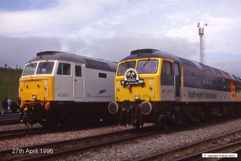 960427-001 719  47817 & 47375  (Tinsley open day, 27-4-96)