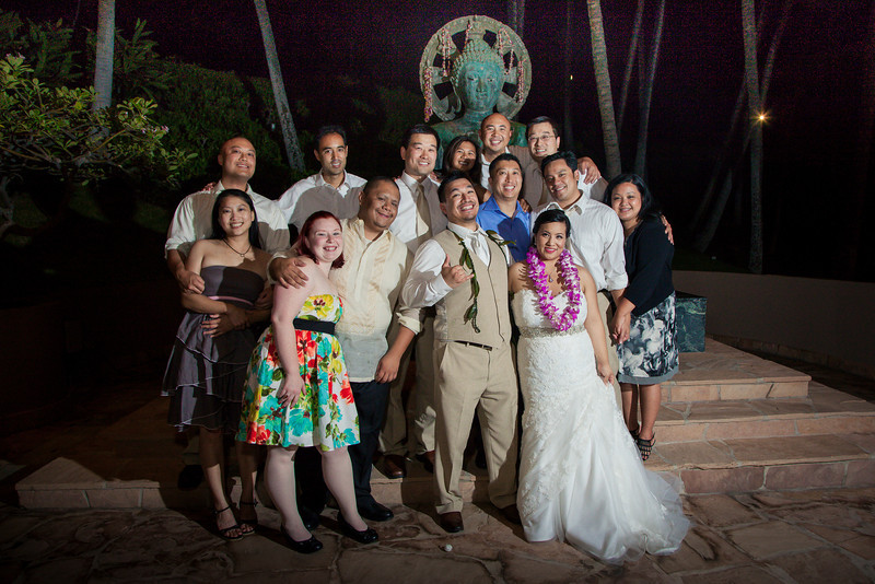 Hilton Waikoloa Wedding reception © Karen Loudon photography