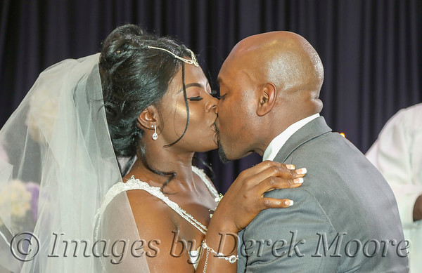 Recia and Daveon Eubanks Wedding Ceremony