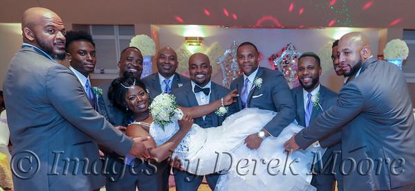 Recia and Daveon Wedding Reception