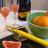 Ruby Grapefruit Mimosas