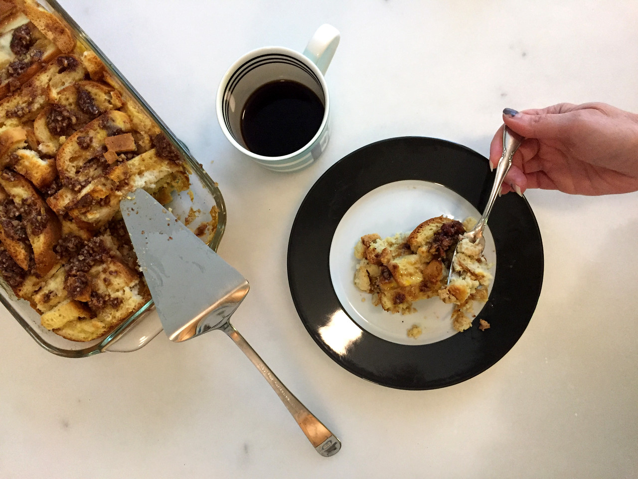 For a weekday breakfast treat, make ahead on the weekend and store as individual portions in the fridge for easy reheating during the week.