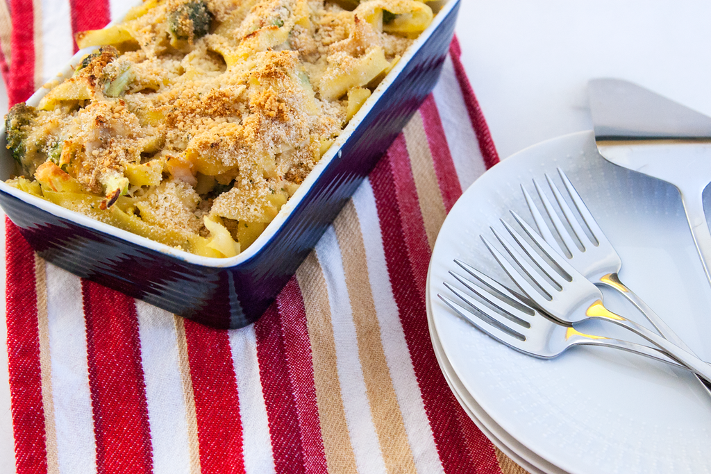 Pantry Challenge: Cheesy Chicken Broccoli Casserole