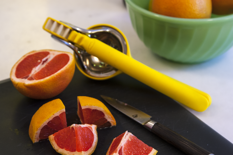 Preparing Grapefruit for Juicing