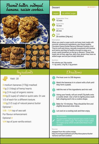 Quad recipe for sharing