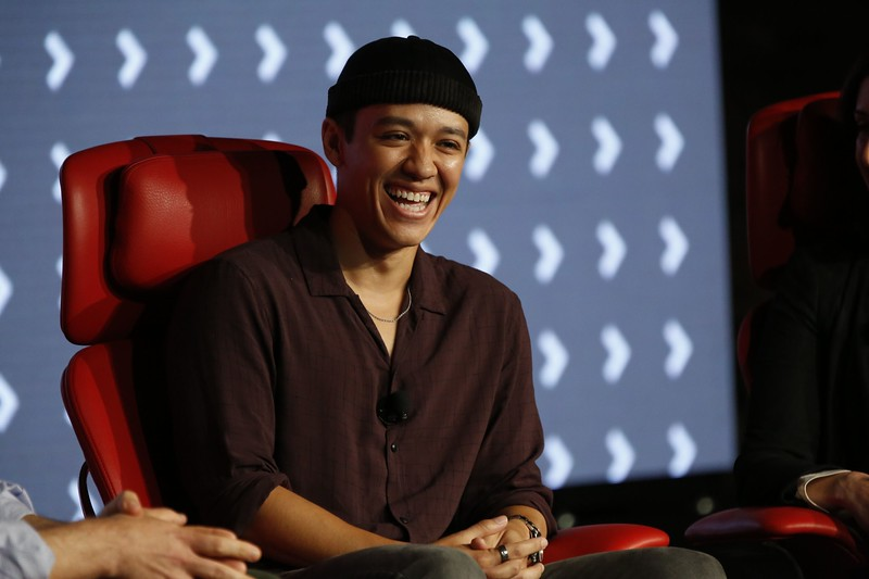 Kyle Hanagami, Choreographer at Recode's Code Commerce 2019. Photo credit: Keith MacDonald for Vox Media.