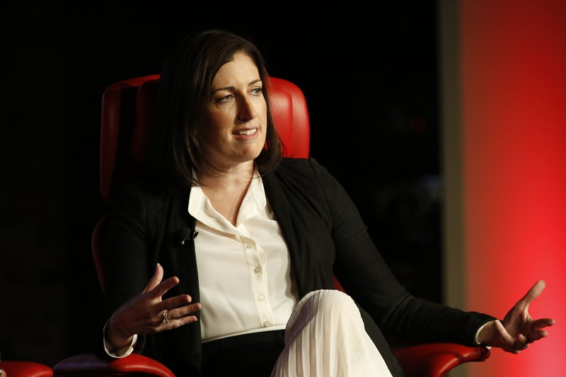 Tara Walpert Levy, Vice President, Agency and Brand Solutions, Google at Recode's Code Commerce 2019. Photo credit: Keith MacDonald for Vox Media.