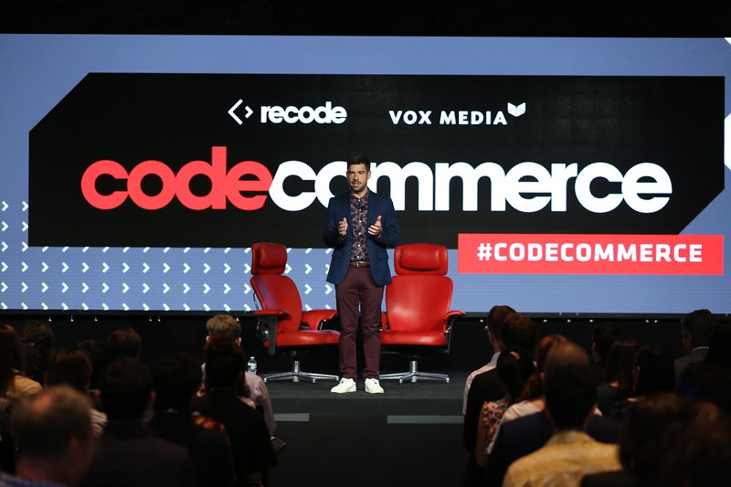 Recode Senior Commerce Correspondent Jason Del Rey, host of Recode's 2019 Code Commerce Conference.