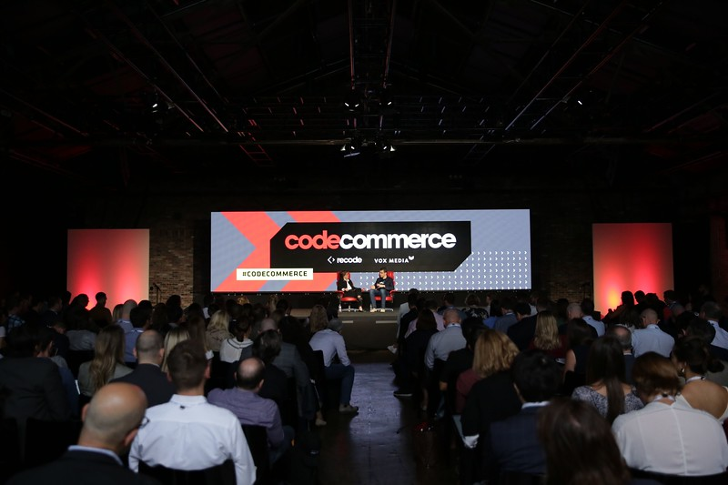 Recode Editor at Large Kara Swisher interviews Max Levchin, Founder and CEO, Affirm at Recode's Code Commerce 2019. Photo credit: Keith MacDonald for Vox Media.