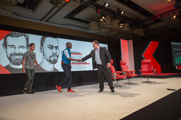 Jack Dorsey and DeRay Mckesson