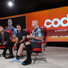 Code Conference 2019 - L to R: Casey Newton, Adam Mosseri, Andrew Bosworth