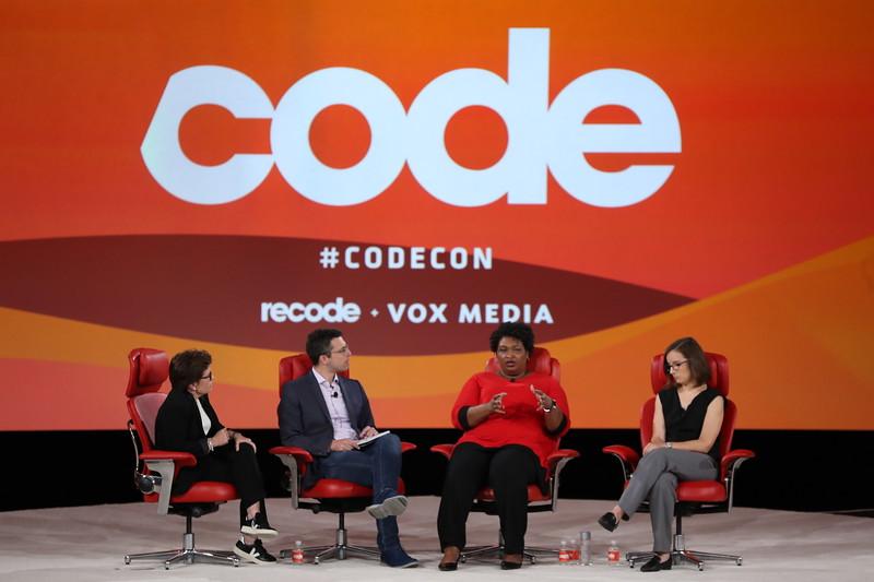 Code Conference 2019 - Stacey Abrams, Lauren Groh-Wargo
