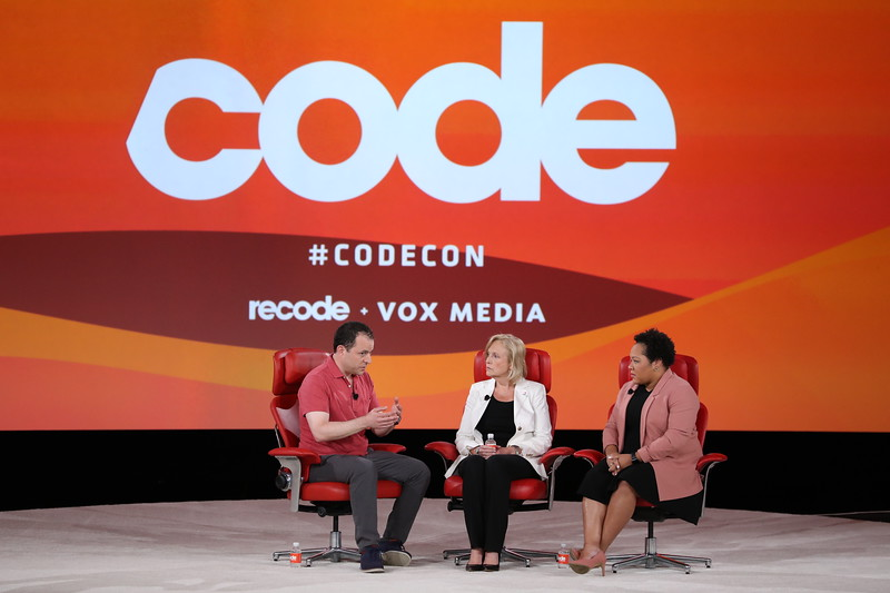 Code Conference 2019 - Paula Kerger, Yamiche Alcindor