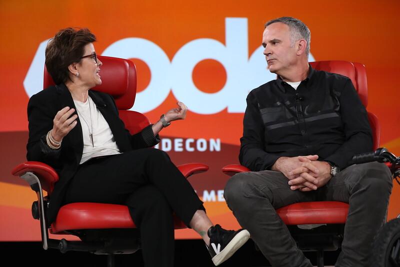 Code Conference 2019 - L to R: Kara Swisher, Matthew Levatich
