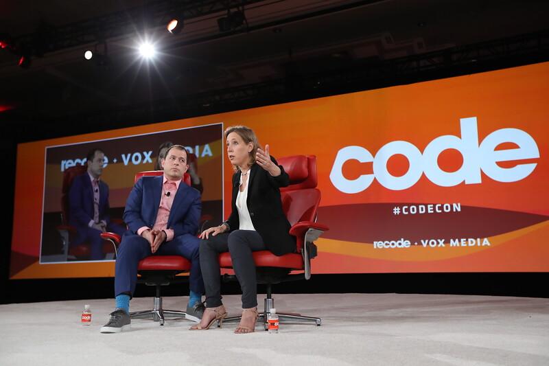Code Conference 2019 - Peter Kafka, Susan Wojcicki
