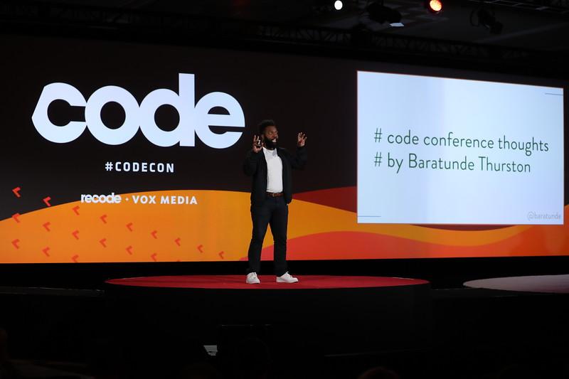 Code Conference 2019 - Baratunde Thurston