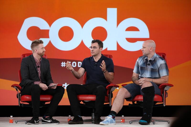 Code Conference 2019 - Casey Newton, Adam Mosseri, Andrew Bosworth