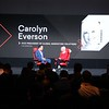 L to R: Peter Kafka, Senior Correspondent, Recode by Vox; Carolyn Everson, VP Global Marketing Solutions, Facebook