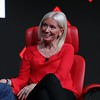 Carolyn Everson, VP Global Marketing Solutions, Facebook talks to Recode's Peter Kafka on stage at the 2019 Code Media Conference