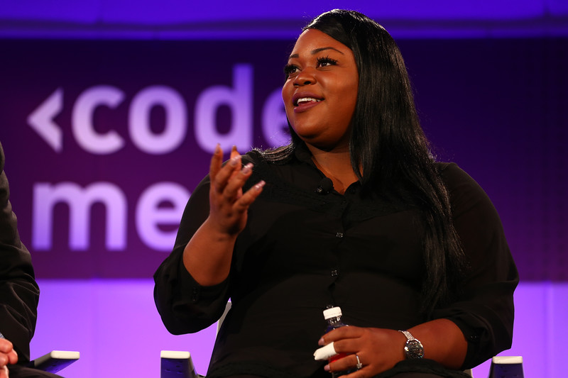 Angelica Nwandu at Code/Media 2016