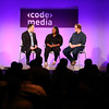 Angelica Nwandu and Matt Bellassai at Code/Media 2016