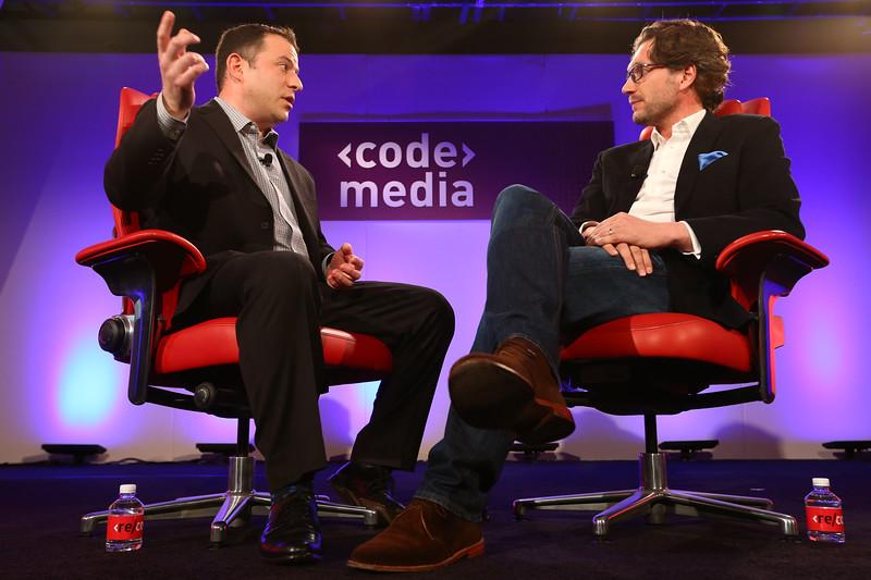 Erik Huggers at Code/Media 2016