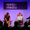 Jessica Lessin, Daniel Roth and John Ridding at Code/Media 2016