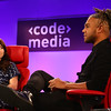 Jason Mante and Meridith Valiando Rojas at Code/Media 2016
