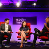 Jason Mante and Meridith Valiando Rojas at Code/Media 2016