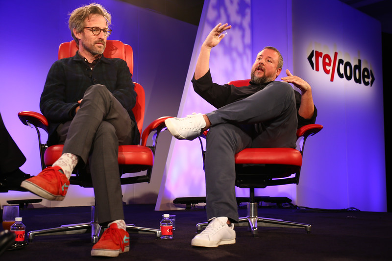 Shane Smith and Spike Jonze at Code/Media 2016