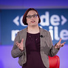 Re/code's Ina Fried welcomes the audience to Code/Mobile 2015