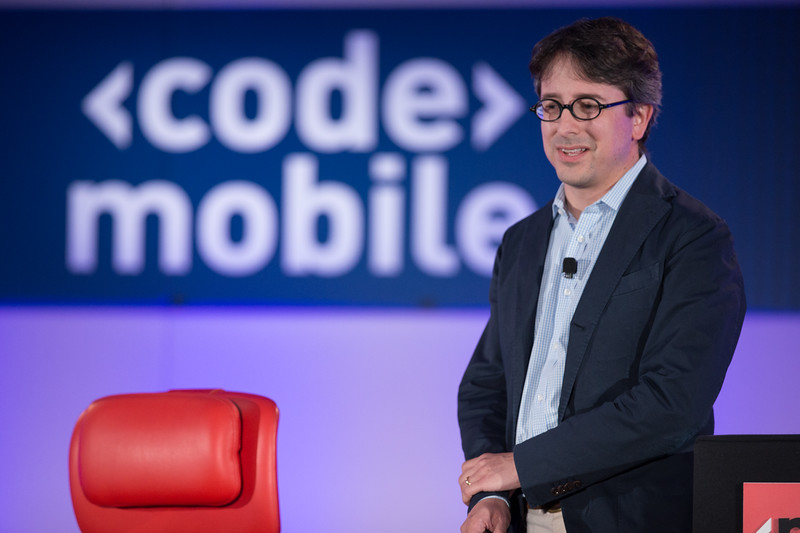 Benedict Evans presents at Code/Mobile 2015