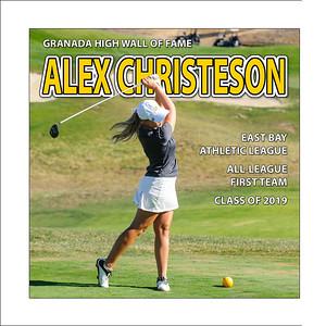 Christeson Alex (GHS) gGolf (1st Team) 2017