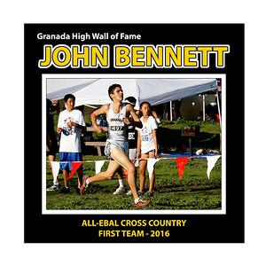 BENNETT John Bennett GHS XC All EBAL 1st Team 2016