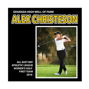 Christenson Alex Golf  (EBAL 1st Team)