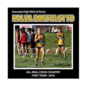 Bartolotto Kalea GHS XC All EBAL 1st Team 2016
