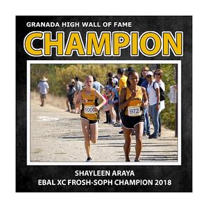 Araya Shayleen XC-FrSo Champ GHS 2018