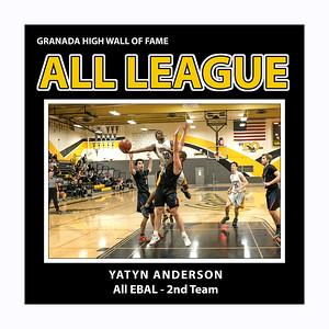 Anderson Yatyn GHS EBAL 2nd Team 2019